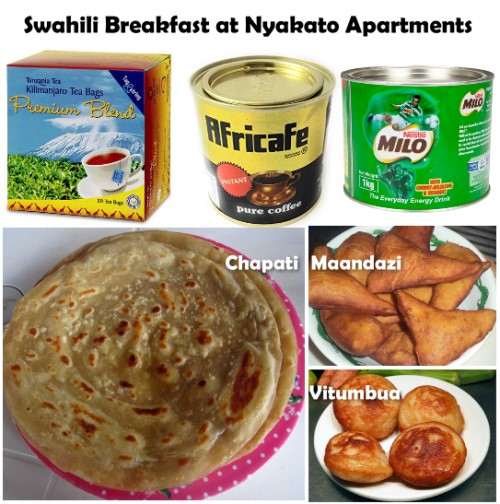 Nyakato Apartments - Swahili breakfast
